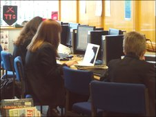 School Reports at Tendring College research their stories