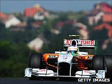Paul di Resta in a Force India
