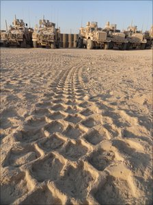 US military vehicles