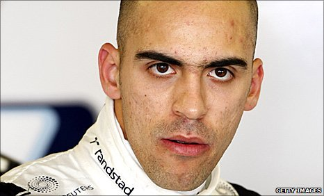 Williams driver Pastor Maldonado