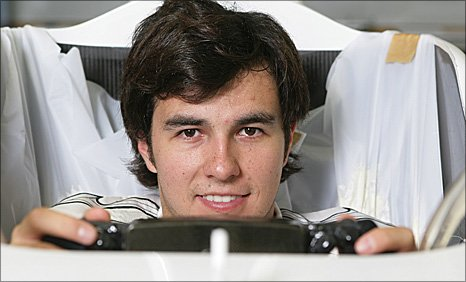 Sauber driver Sergio Perez