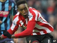 Sunderland striker Danny Welbeck