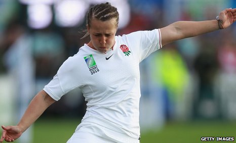 England's new captain Katy McLean