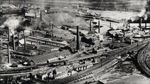 Swansea Copperworks in 1957