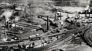 Swansea Copperworks in 1957