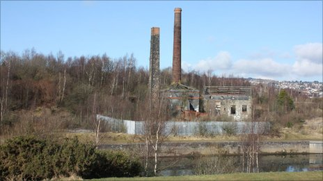 Hafod Copperworks site as it looks today