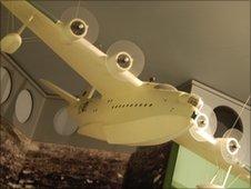 201 Squadron seaplane model