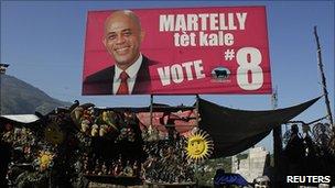 manifesto elettorale di Martely