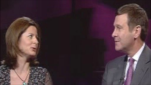 Rachel Banner and Roger Lewis on BBC Dragon's Eye