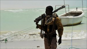 Somali pirate, file pic