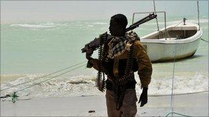 Somali pirate, file pic