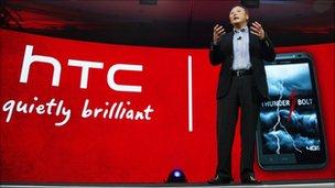 Peter Chou, HTC chief executive