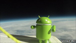 Picture of Android logo toy (Google)