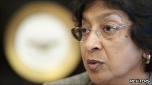 United Nations High Commissioner for Human Rights Navi Pillay, January 2011
