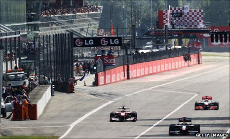 The Italian Grand Prix at Monza