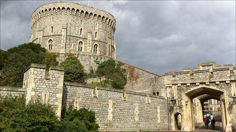 Windsor Castle's Round Tower