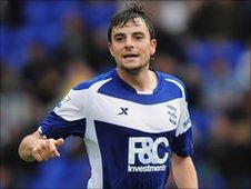 Birmingham's Spanish midfielder Michel