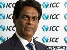 Sri Lanka Cricket chairman DS de Silva