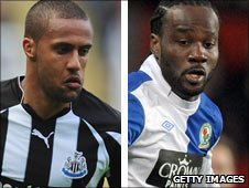 Wayne Routledge and Pascal Chimbonda