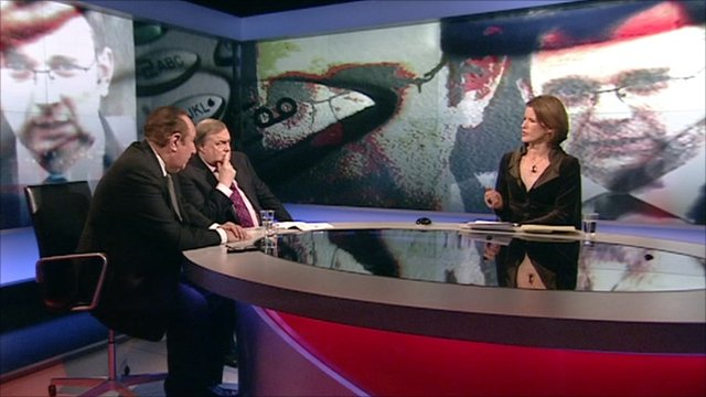 John Prescott and Andrew Neil discuss the Andy Coulson resignation