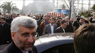 Saeed Jalili in Istanbul, 21 January 2011