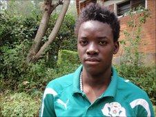 Bertrand Traore in Rwanda