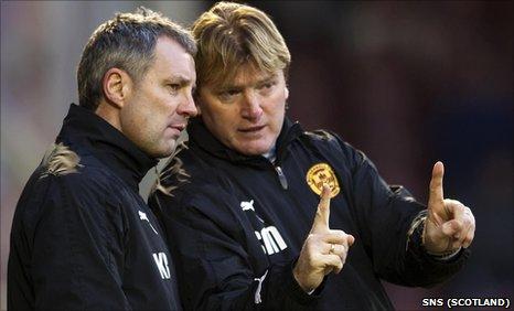 Kenny Black and Stuart McCall