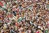 Spectators at the Australian Open