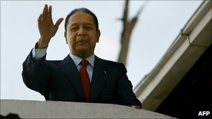Jean-Claude Duvalier, 21 January 2011