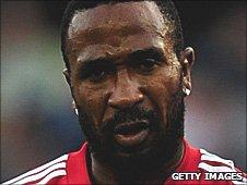 Stoke City striker Ricardo Fuller