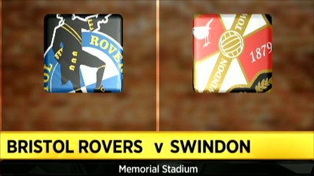 Bristol Rovers v Swindon
