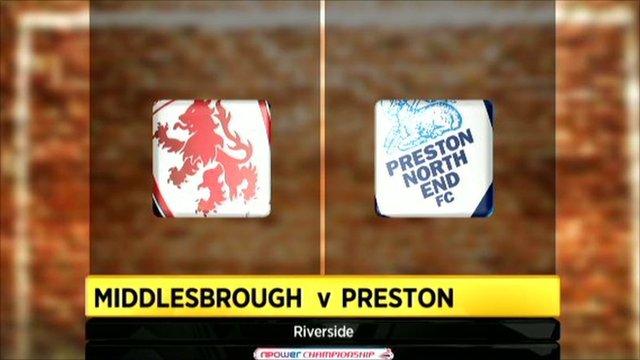 Middlesbrough 1-1 Preston