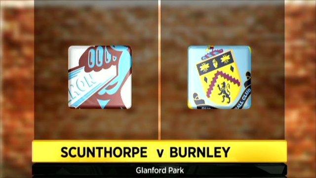 Scunthorpe 0-0 Burnley