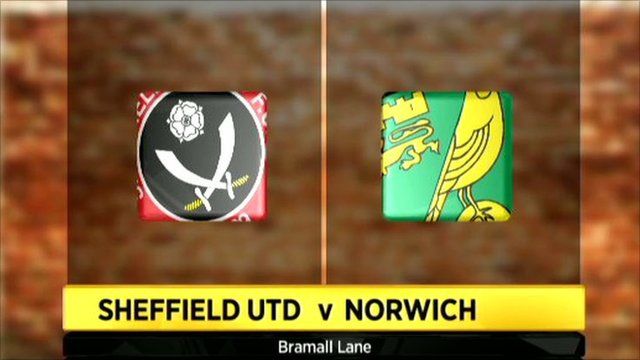 Sheffield United 1-2 Norwich City