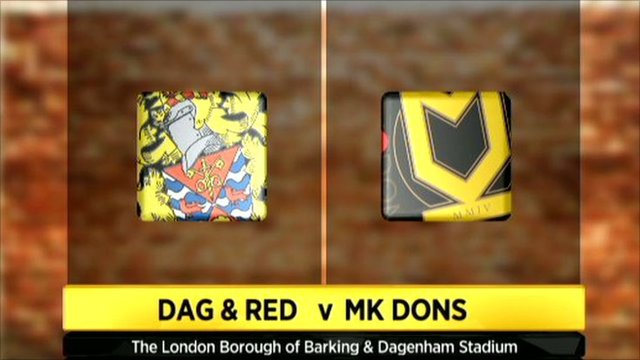 Highlights - Dagenham & Redbridge 0-1 MK Dons
