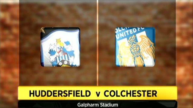 Highlights - Huddersfield Town 0-0 Colchester Utd