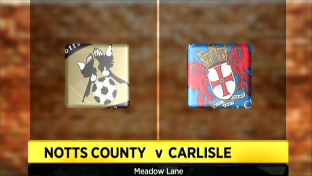 Highlights - Notts County 0-1 Carlisle Utd