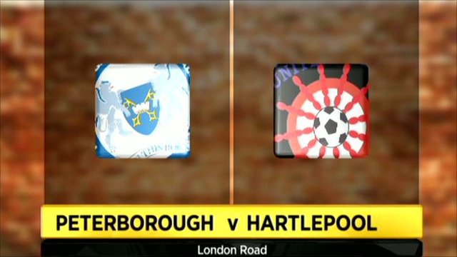 Highlights - Peterborough Utd 4-0 Hartlepool Utd