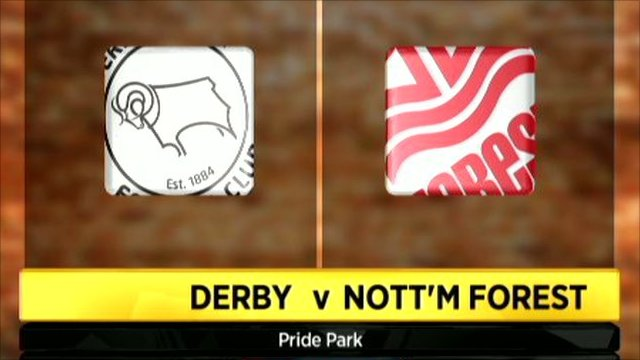 ing Derby and Nottingham Forest club badges