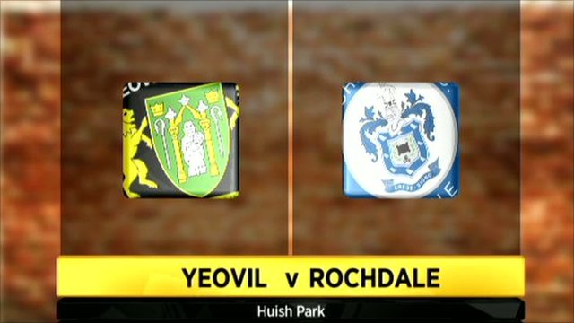 Highlights - Yeovil Town 0-1 Rochdale
