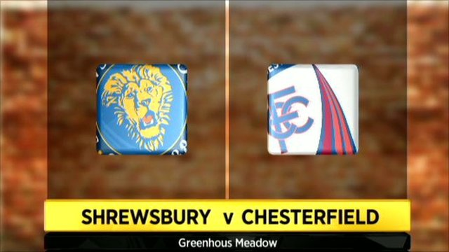 Highlights - Shrewsbury Town 0-0 Chesterfield