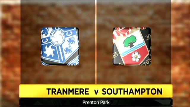 Highlights - Tranmere 2-0 Southampton