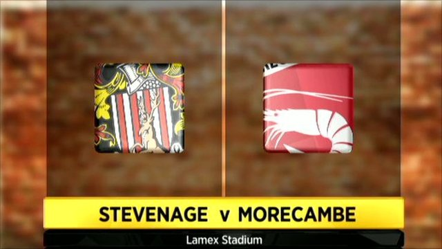 Highlights - Stevenage Borough 2-0 Morecambe
