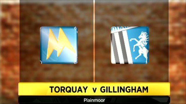 Highlights - Torquay Utd 1-1 Gillingham