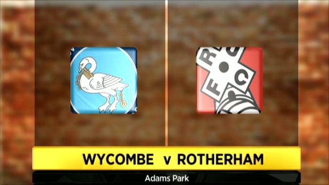 Highlights - Wycombe Wanderers 1-0 Rotherham Utd