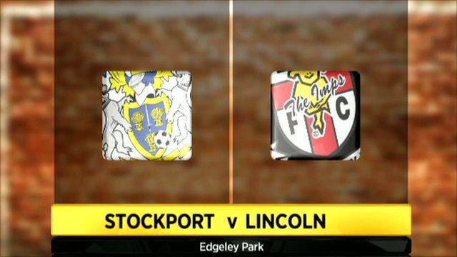 Highlights - Stockport County 3-4 Lincoln City