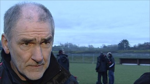 Mickey Harte speaks after Sunday's McKenna Cup game in Edendork