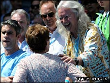 Billy Connolly meets Judy Murray