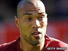 Stoke City striker John Carew