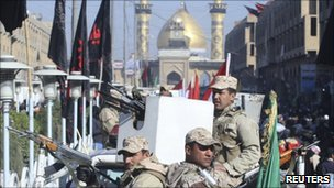 Strict security measures are in place for the Karbala pilgrimage